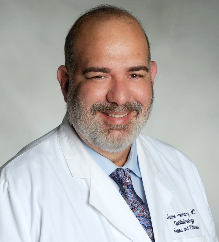 Jaime Jimenez, MD, FAAO Photo